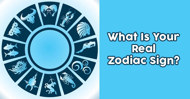 What Is Your Real Zodiac Sign?