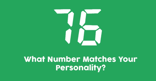 What Number Matches Your Personality?