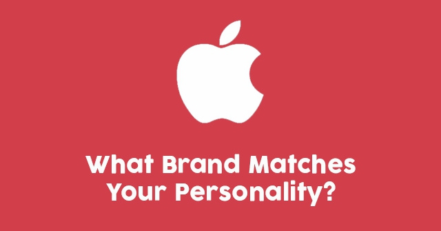 What Brand Matches Your Personality?