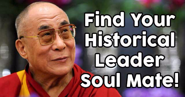 Find Your Historical Leader Soul Mate!