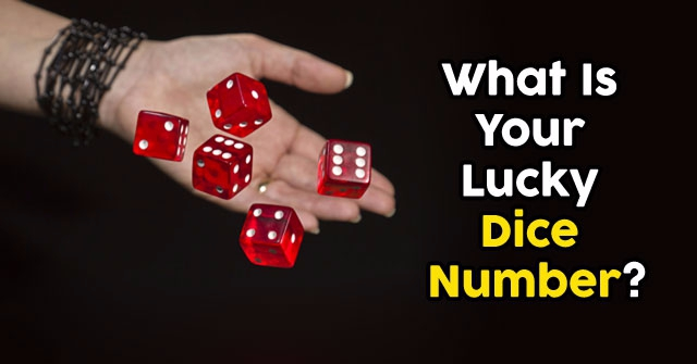 What Is Your Lucky Dice Number?