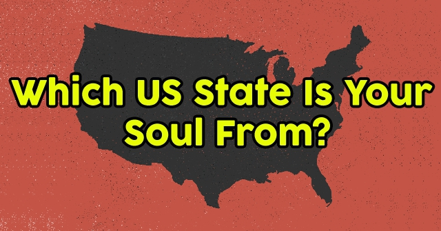 Which US State Is Your Soul From?