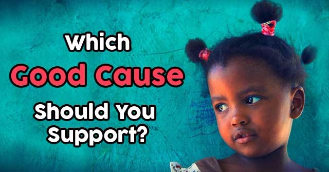 Which Good Cause Should You Support?