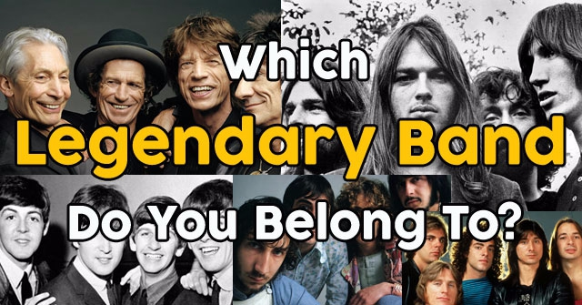 Which Legendary Band Do You Belong To?