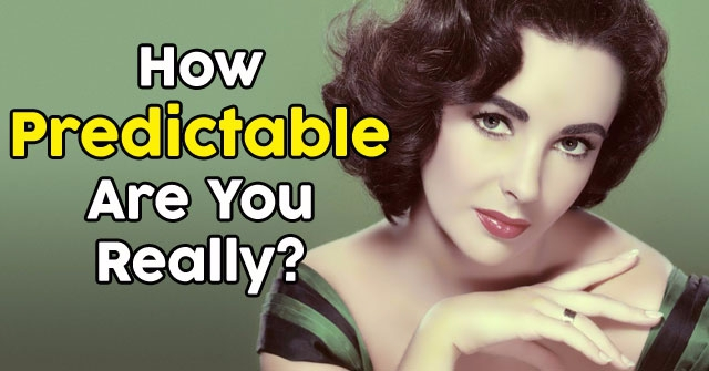 How Predictable Are You Really?
