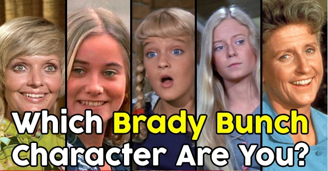 Which Brady Bunch Character Are You?