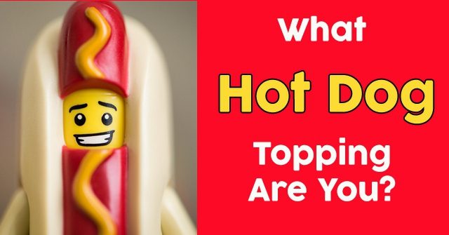 What Hot Dog Topping Are You?