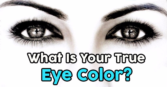 What Is Your True Eye Color?