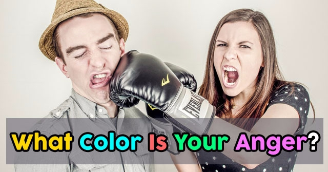 What Color Is Your Anger?