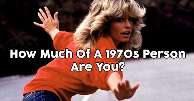 How Much Of A 1970s Person Are You?