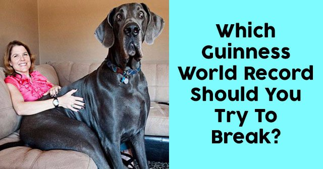 Which Guinness World Record Should You Try To Break?