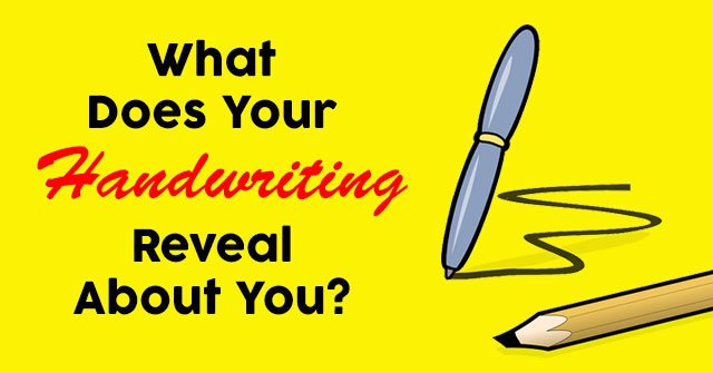 What Does Your Handwriting Reveal About You?