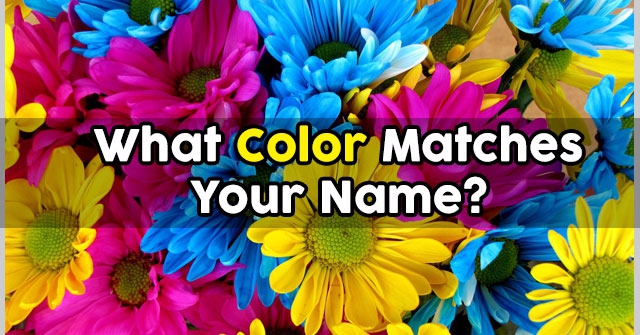 What Color Matches Your Name?