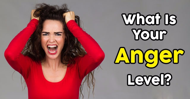 What Is Your Anger Level?