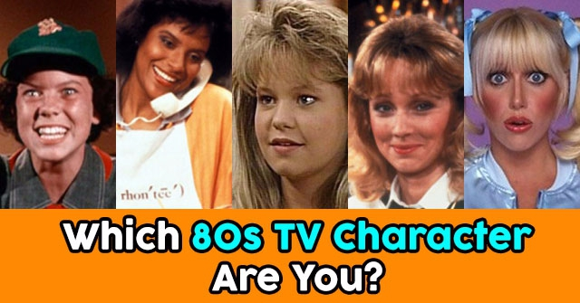 Which 80s TV Character Are You?