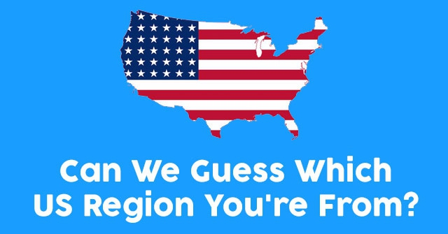 Can We Guess Which US Region You're From?