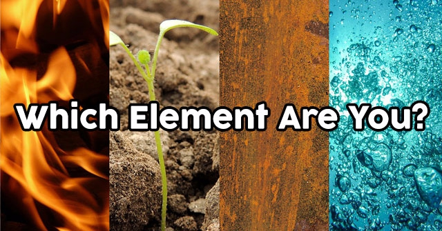 Which Element Are You?