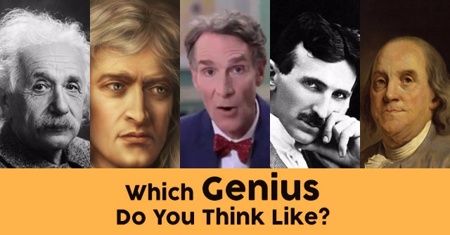 Which Genius Do You Think Like?