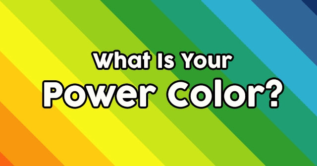 What Is Your Power Color?