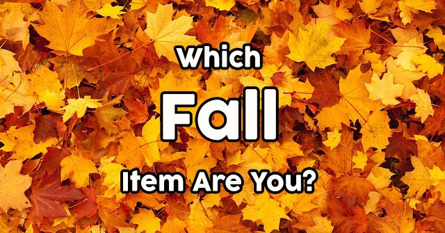 Which Fall Item Are You?