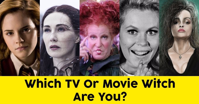 Which TV Or Movie Witch Are You?