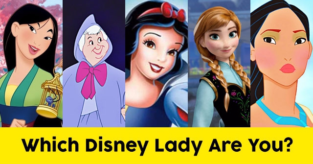 Which Disney Lady Are You?