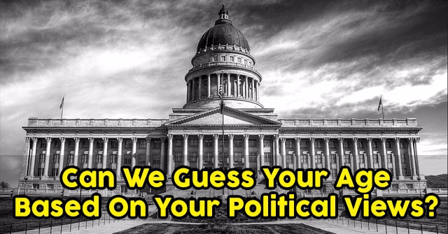 Can We Guess Your Age Based On Your Political Views?