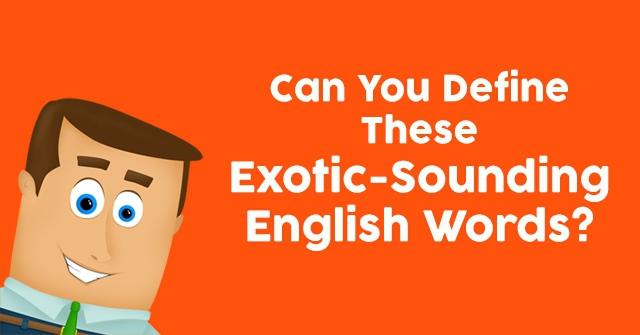 define exoctic