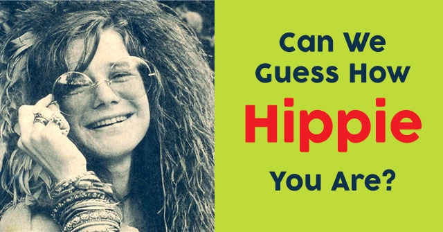How Hippie Are You Quizdoo