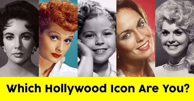 Which Hollywood Icon Are You?