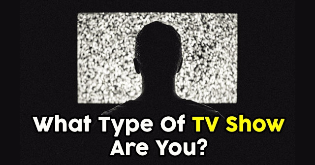 What Type Of TV Show Are You?