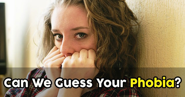 Can We Guess Your Phobia?