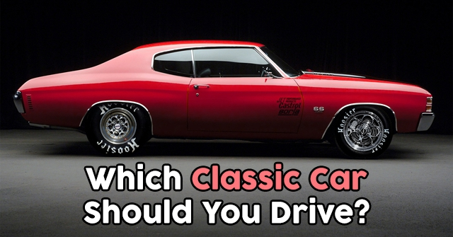 Which Classic Car Should You Drive?