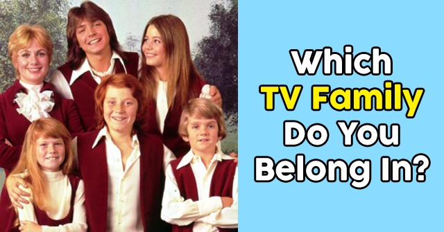 Which TV Family Do You Belong In?