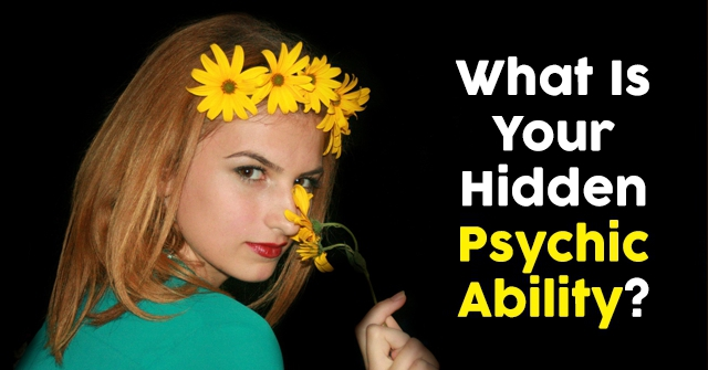 What Is Your Hidden Psychic Ability?