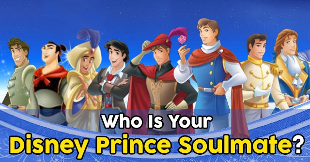 Who Is Your Disney Prince Soulmate?