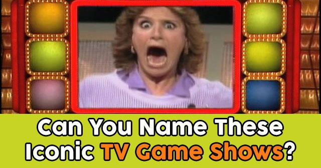Can You Name These Iconic TV Game Shows?