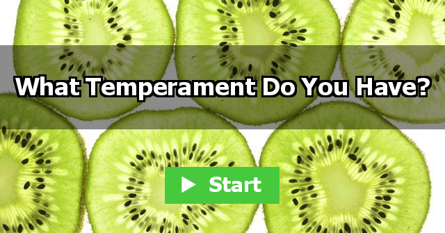 What Temperament Do You Have?