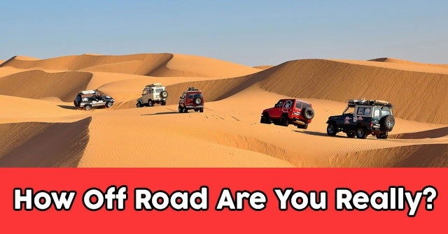 How Off Road Are You Really?