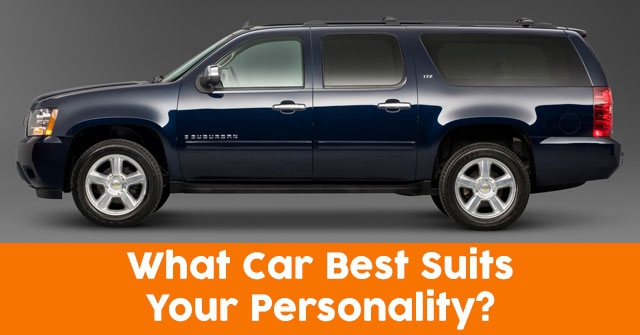 What Car Best Suits Your Personality?