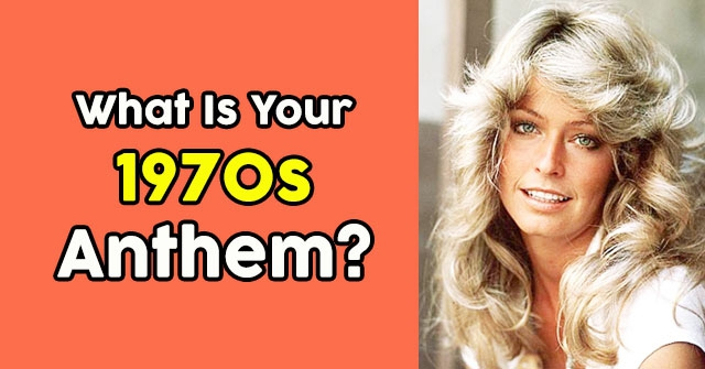 What Is Your 1970s Anthem?