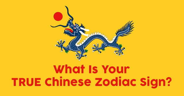 What Is Your TRUE Chinese Zodiac Sign?