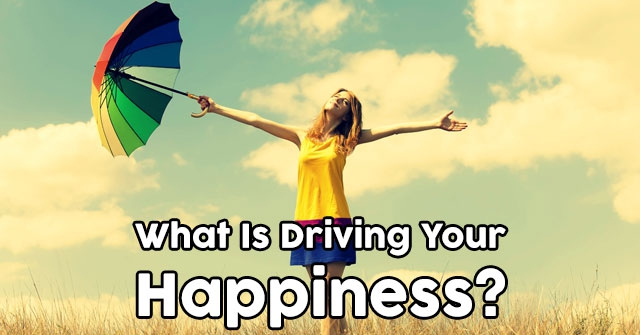 What Is Driving Your Happiness?