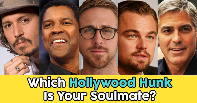 Which Hollywood Hunk Is Your Soulmate?