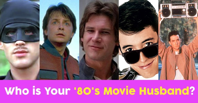Who is Your '80's Movie Husband?