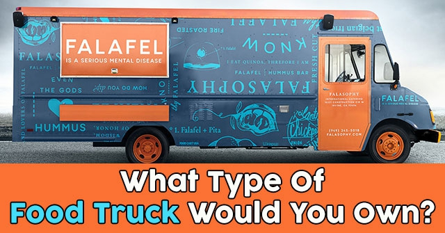 what type of food truck would you own quizdoo. Black Bedroom Furniture Sets. Home Design Ideas