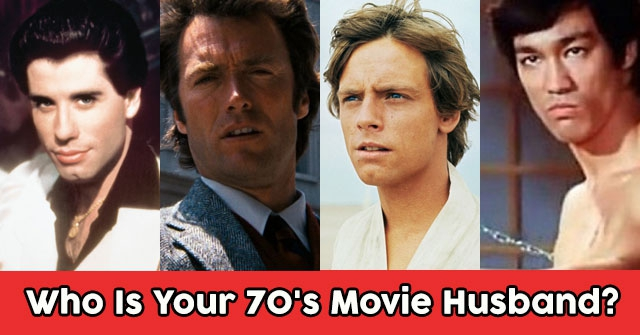 Who Is Your 70's Movie Husband?