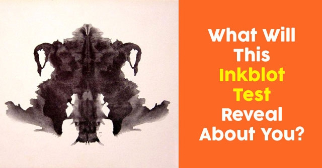What Will This Inkblot Test Reveal About You?