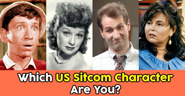 Which US Sitcom Character Are You?