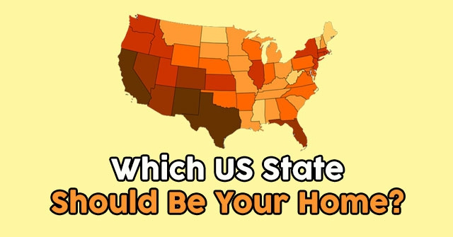 Which US State Should Be Your Home?